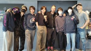 Coldplay and BTS